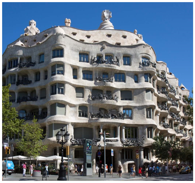 Casa Milà- Barcelona, Spain